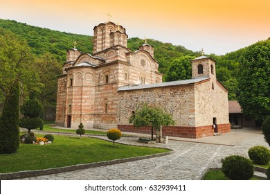 Monastery Ravanica and church, built in 14th century, Serbia