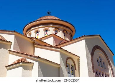 Monastery Saint Gerasimos in Kefalonia, Greece
