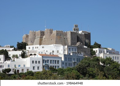 Monastery of Saint John on the greek island of Patmos