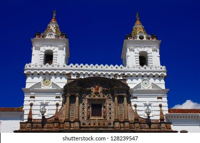 Monastery of San Francisco, oldest church in Quito, Ecuador