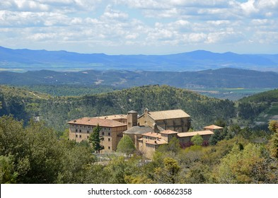The Monastery of San Salvador of Leyre is one of the most important religious center and a place of Roman Catholic pilgrimage in Spain. It is located at the foot of the mountain range.