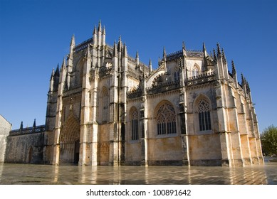 Monastery of Santa Maria da Vitoria, also known as Batalha Monastery. Batalha, Portugal.