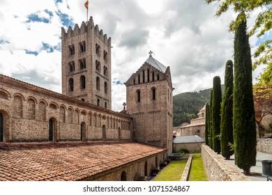 Monastery of Santa Maria de Ripoll, Catalonia, Spain.
