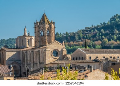 The Monastery of Santa Maria de Vallbona (Vallbona de les Monges), the only female monastery of the cistercian route in Catalonia preserving the monastic life since the XII. century. Catalonia, Spain