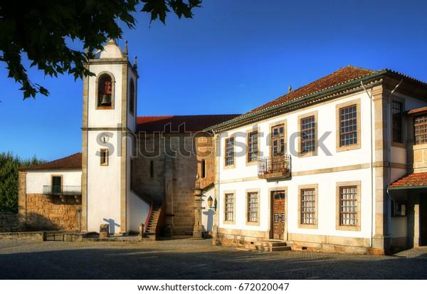 Monastery of Santa Maria de Vila Boa do Bispo in Marco de Canavezes, north of Portugal