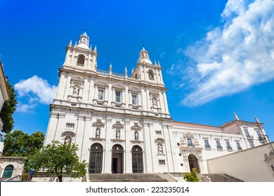 The Monastery of Sao Vicente de Fora is a 17th-century church and monastery in Lisbon, Portugal