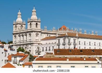 Monastery of Sao Vicente de Fora, Lisbon, Portugal