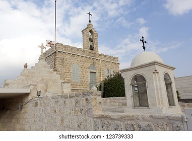 The monastery at the Shepherds' Field 1 km from Bethlehem