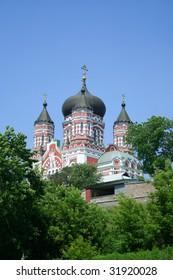 Monastery of St Panteleimon.Kiev.Ukraine.