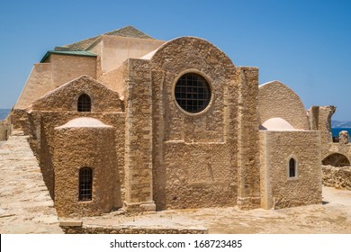 The Monastery of St. Peter and St. Paul, erected under venetian rule, in Heraklion, tha capital of Crete