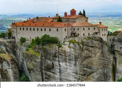 Monastery of St. Steven, Meteora, Greece