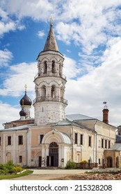 Monastery of Sts. Boris and Gleb in Torzhok, Russia. Church of the Entry of the Theotokos into the Temple