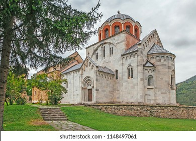 The Monastery Studenica. Serbia. The main attraction of the monastery-Byzantine style frescoes, Dating from the XIII and XIV centuries. In 1986, UNESCO inscribed the Studenica.
