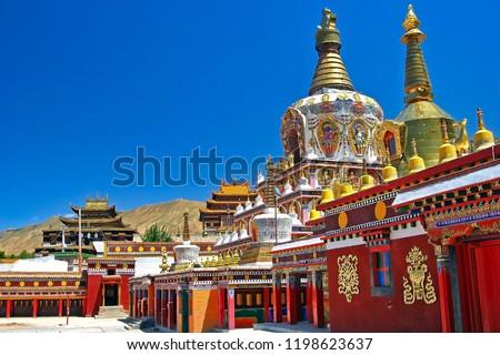 Monastery in Tongren Rebkong