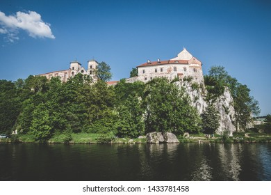 Monastery in Tyniec in Poland