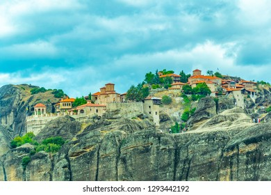 Monastery of Varlaam at Meteora, Greece