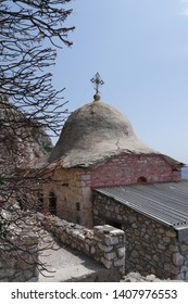 The monastic state Mount Athos in Grecce
