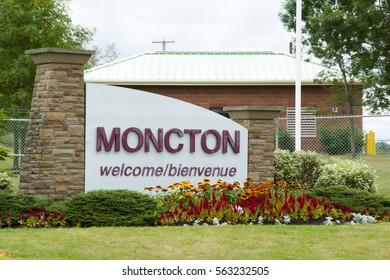Moncton City Sign - Canada