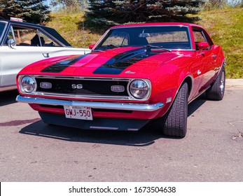 Moncton, New Brunswick, Canada - July 11, 2009 : 1968 Chevrolet Camaro SS at  Atlantic Nationals Automotive  Extravaganza Centennial Park.