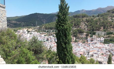 Monda, a village of Málaga, Spain