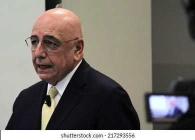 Monday, March 25, 2013 - Adriano Galliani (Monza, July 30, 1944) is an Italian entrepreneur and sports manager.