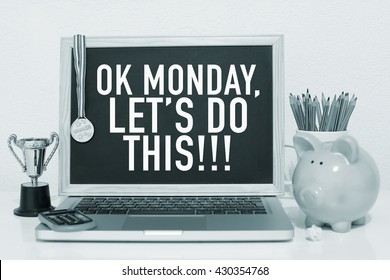 Monday Motivation Note / Ok monday let's do this