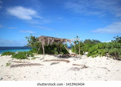 Mondriki Island, Fiji where Cast Away was movied