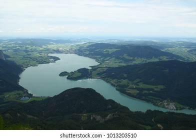 Mondsee from the Schafberg