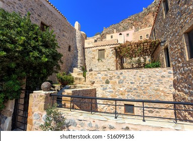 Monemvasia the medieval town in Peloponnese