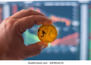 Monero Digital Crypto Currency Coin Blockchain Decetralized Open Source Financial Transaction Token