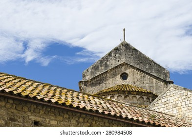 Monestir de Sant Pere in Besalu (Spain)