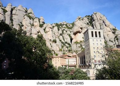 Monestir Santa Maria de Montserrat, Spain