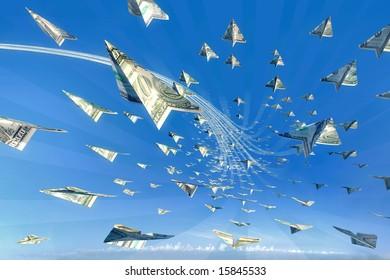 Money Attack! 3d winner concept