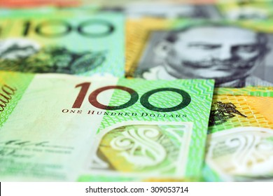 Money,  Australian dollar (AUD) banknotes