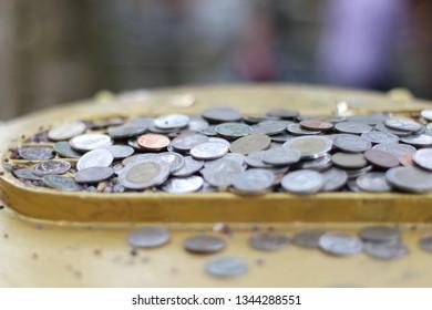 money  baht  Thai Baht coins