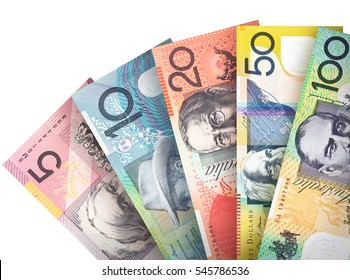 Money bills stacked like a fan creating a colorful background.