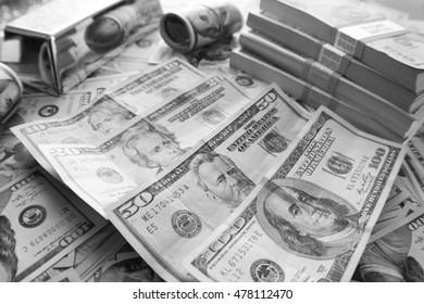 Money Black & White Stock Photo High Quality