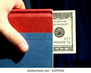 money bookmark