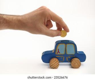 Money box car