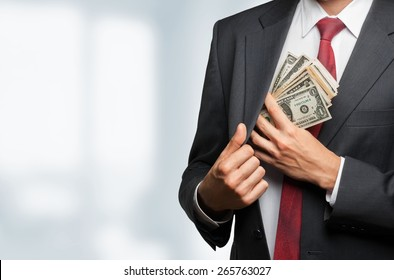 Money, business, pocket.
