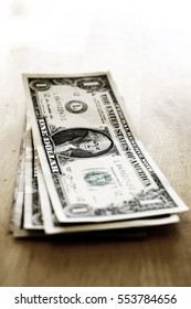 Money cash dollar bills american wealth riches and savings