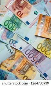 Money cash, euro and american  dollars currency.