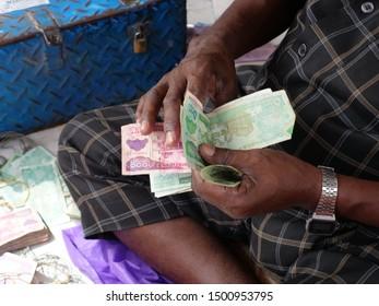 Money changer in Hargeisa Somaliland