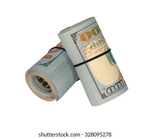 Money close-up. Dollar cash money