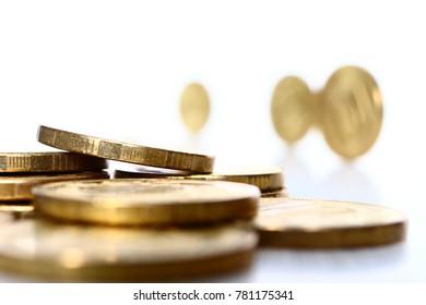 money, money, money. coins
