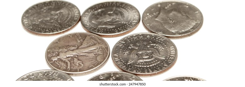 Money, Coins and Silver Dollars