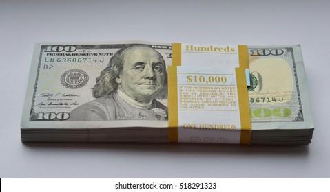 Money. Dollar bills