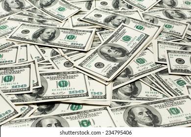 Money dollars