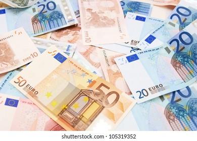 Money . Euro . .