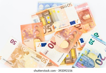money euro bills currency